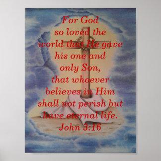 Scripture poster