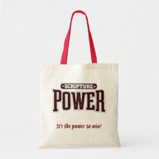 Scripture Power. tote Tote Bag