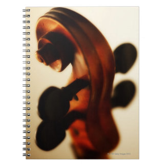 Scroll and Neck Notebooks