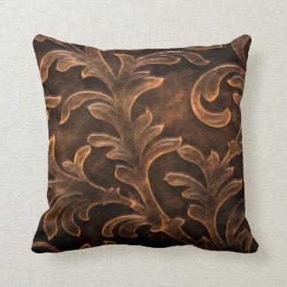 Scroll Leaf Pillow Throw Cushions