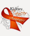 Scroll Orange Ribbon Kidney Cancer Awareness