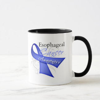 Scroll Ribbon Esophageal Cancer Awareness