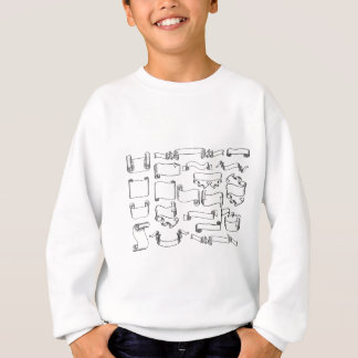Scrolls and Banners Set Sweatshirt