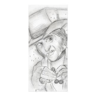 Scrooge - A Christmas Carol Ticket Rack Card Template
