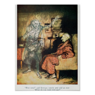Scrooge and The Ghost of Marley Poster