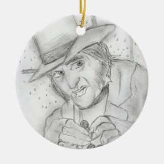 Scrooge Christmas Ornament