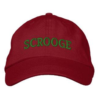 SCROOGE Embroidery Cap Baseball Cap