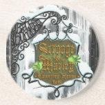 Scrooge&MarleySignScene Drink Coasters