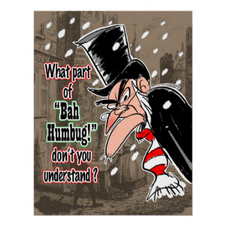 Scrooge Poster (small)