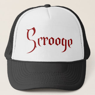 Scrooge Trucker Hat