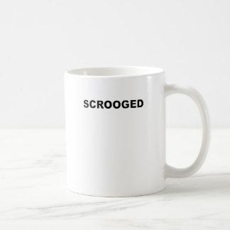 SCROOGED.png Basic White Mug
