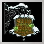 ScroogeHauntedSign Posters