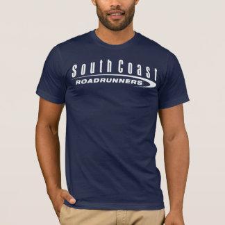 SCRR Men's Short Sleeve Dark Shirt with White Logo
