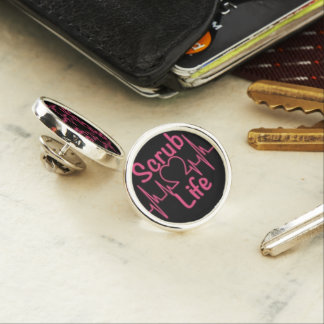 Scrub Life Lapel Pin