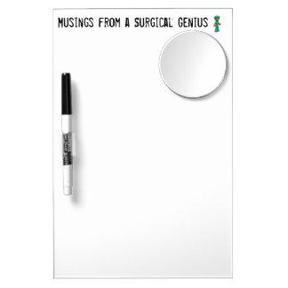 Scrub Man Items Dry Erase Whiteboard