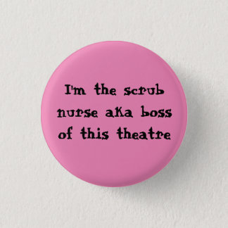 Scrub nurse badge