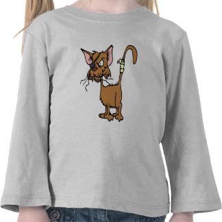 Scruffy Cat Shirt