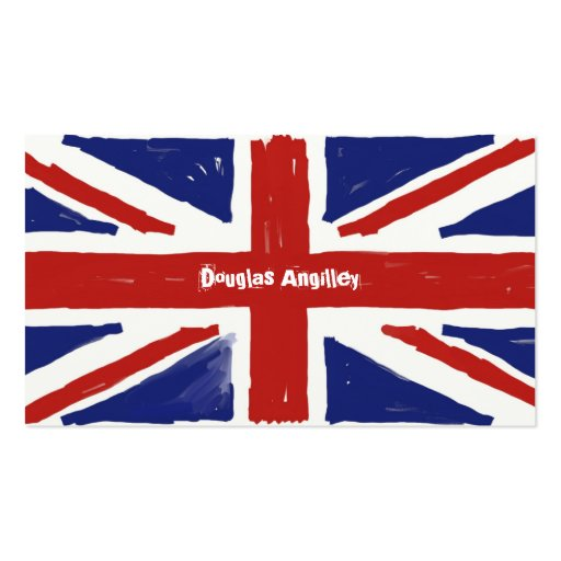 Scruffy Union Jack, Business Cards
