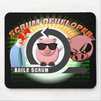 Scrum Developer Mousepad - Agile