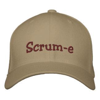 Scrum-e Flexfit Cap Embroidered Embroidered Baseball Caps
