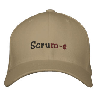 Scrum-e Flexifit Embroidered Cap