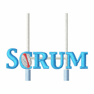 Scrum Embroidered Polo Shirts