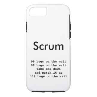 Scrum iPhone 7 Programmer Phone Case