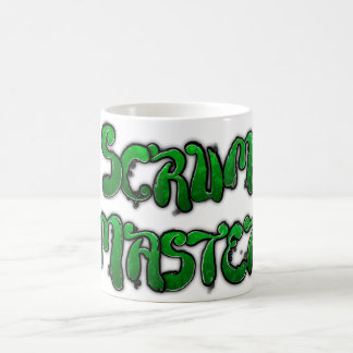 Scrum Master Graffiti Mug