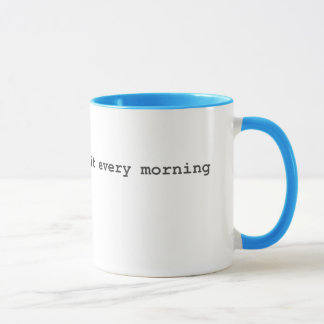 Scrum Masters Do It Every Morning Mug