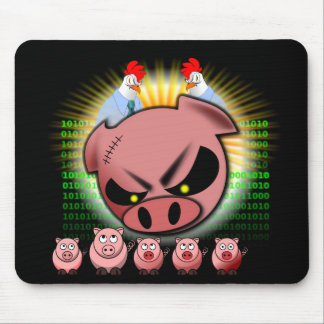 Scrum Mousepad - Chickens & Pigs