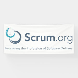 Scrum.org Logo Banner - Vinyl
