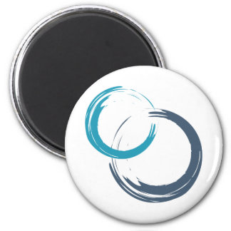 Scrum.org Round Magnets - White