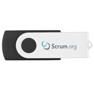 Scrum.org USB Flash Drive Swivel USB 2.0 Flash Drive