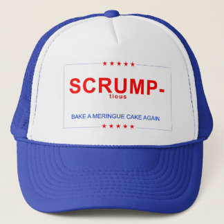 Scrumptious - Bake A Meringue Cake Again Trucker Hat