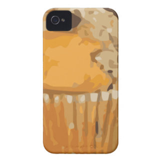 Scrumptious Blueberry Muffin Delicious Dessert Case-Mate iPhone 4 Cases