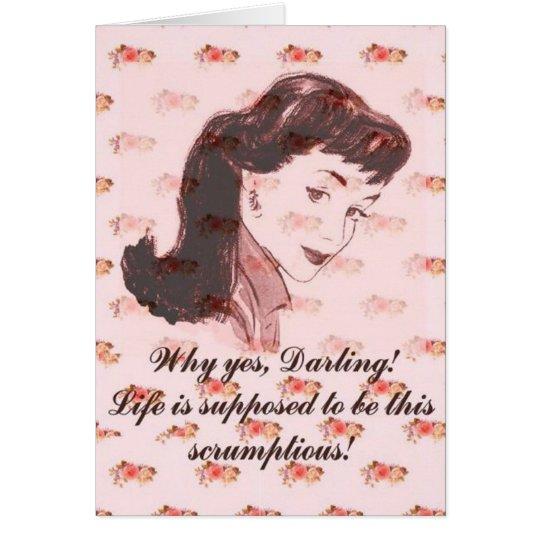 Scrumptious! Card