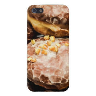 Scrumptious Nutty Glazed Donuts iPhone 5/5S Covers