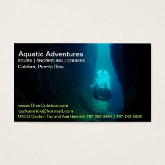 SCUBA Business Card