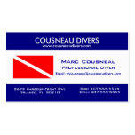 Scuba Business - Personal Card 1 Pack Of Standard Business Cards
