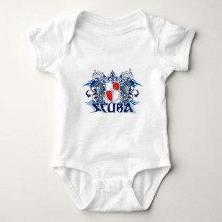 SCUBA CREST BABY BODYSUIT