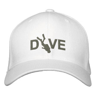 SCUBA Dive Embroidered Cap Embroidered Baseball Cap