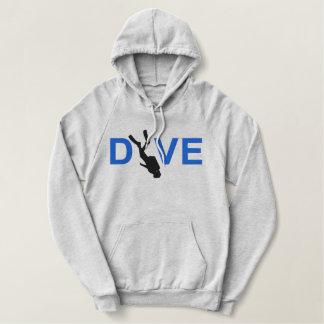SCUBA Dive Embroidered Sweatshirt