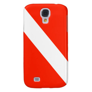 Scuba Dive Flag Galaxy S4 Case