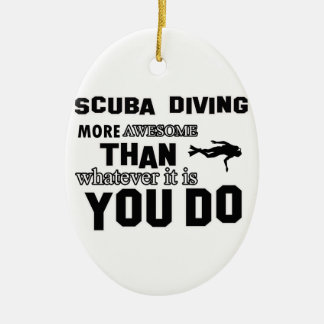 scuba dive  more awesome christmas ornament
