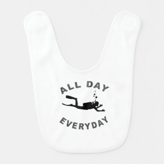 Scuba Diver All Day Everyday R Bib