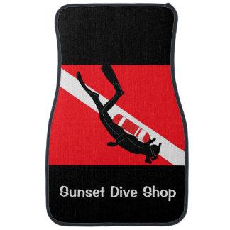 Scuba Diver Car Mats Car Mat