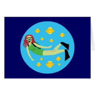 Scuba Diver Cards