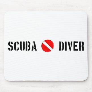Scuba Diver Cool design! Mouse Mat
