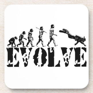 Scuba Diver Diving Evolution Sports Art Coaster