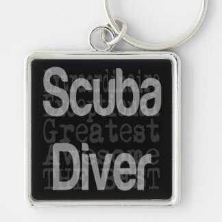 Scuba Diver Extraordinaire Key Ring